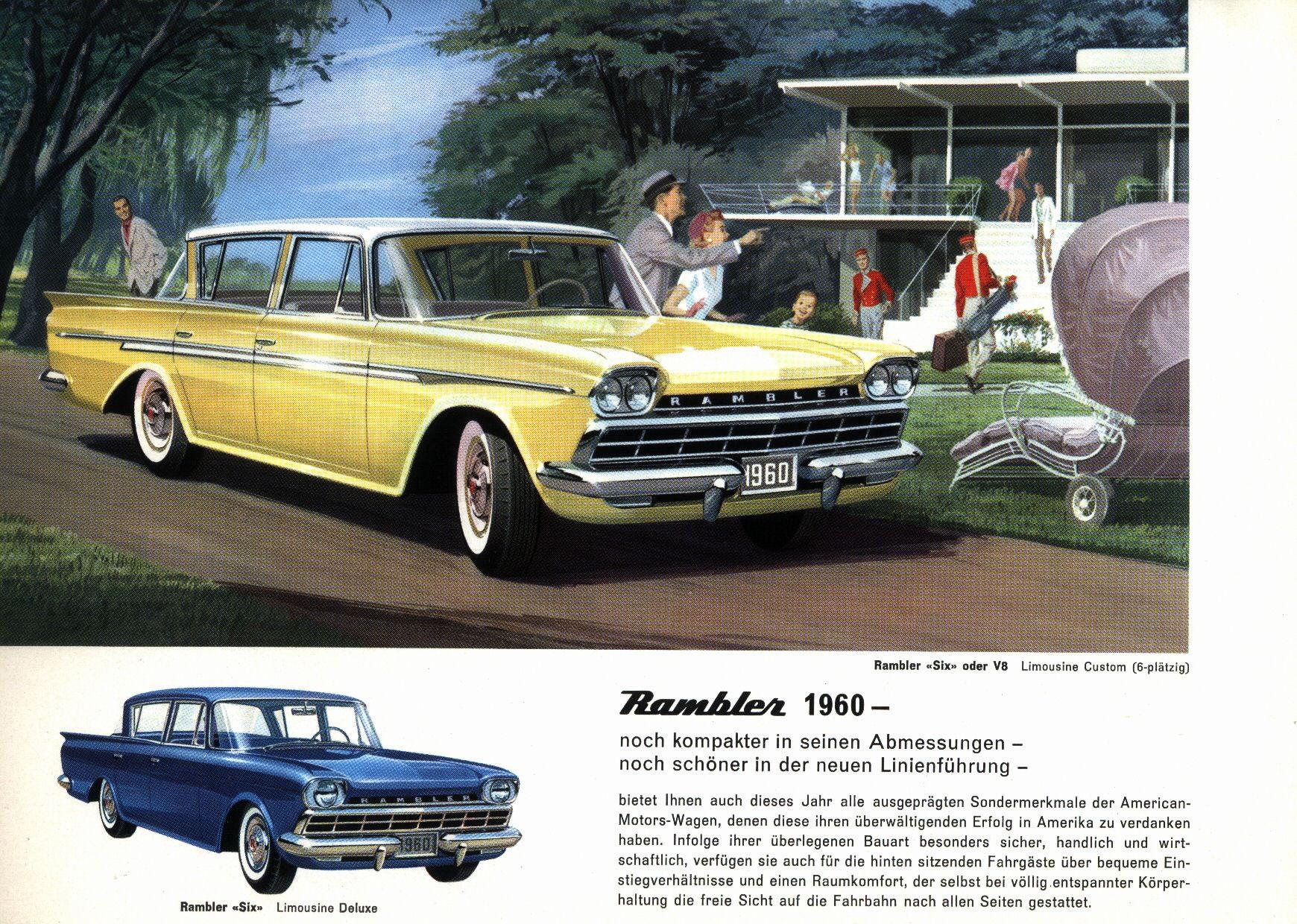 1960 Rambler Car