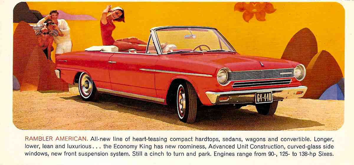 Car Brochures 1964 Rambler Full Line 64RamblerMR003jpg – Old Car Brochure