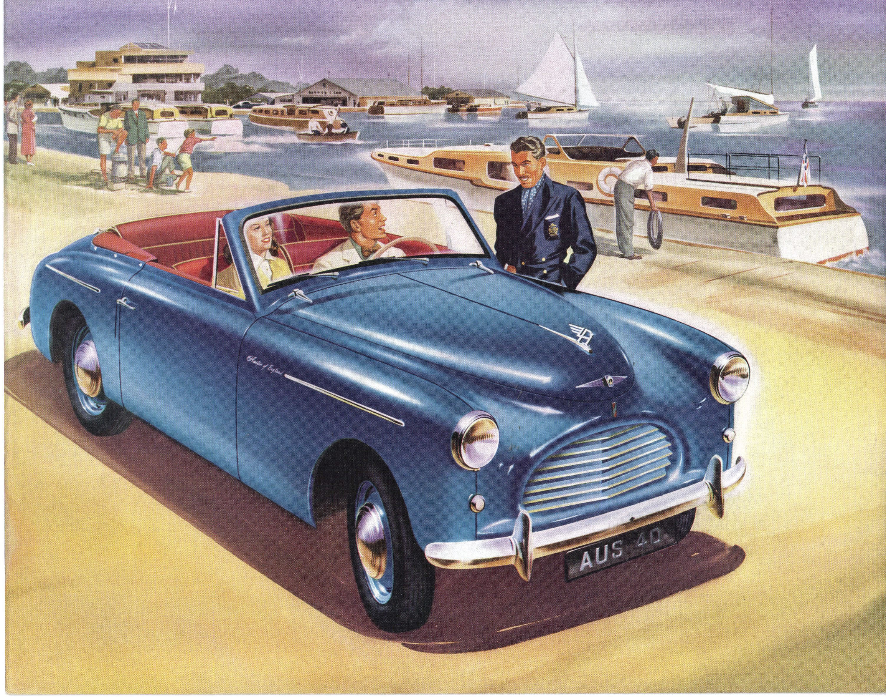 Car Brochures Austin A40 Brochure Austin A40 Sports 2jpg – Old Car Brochure