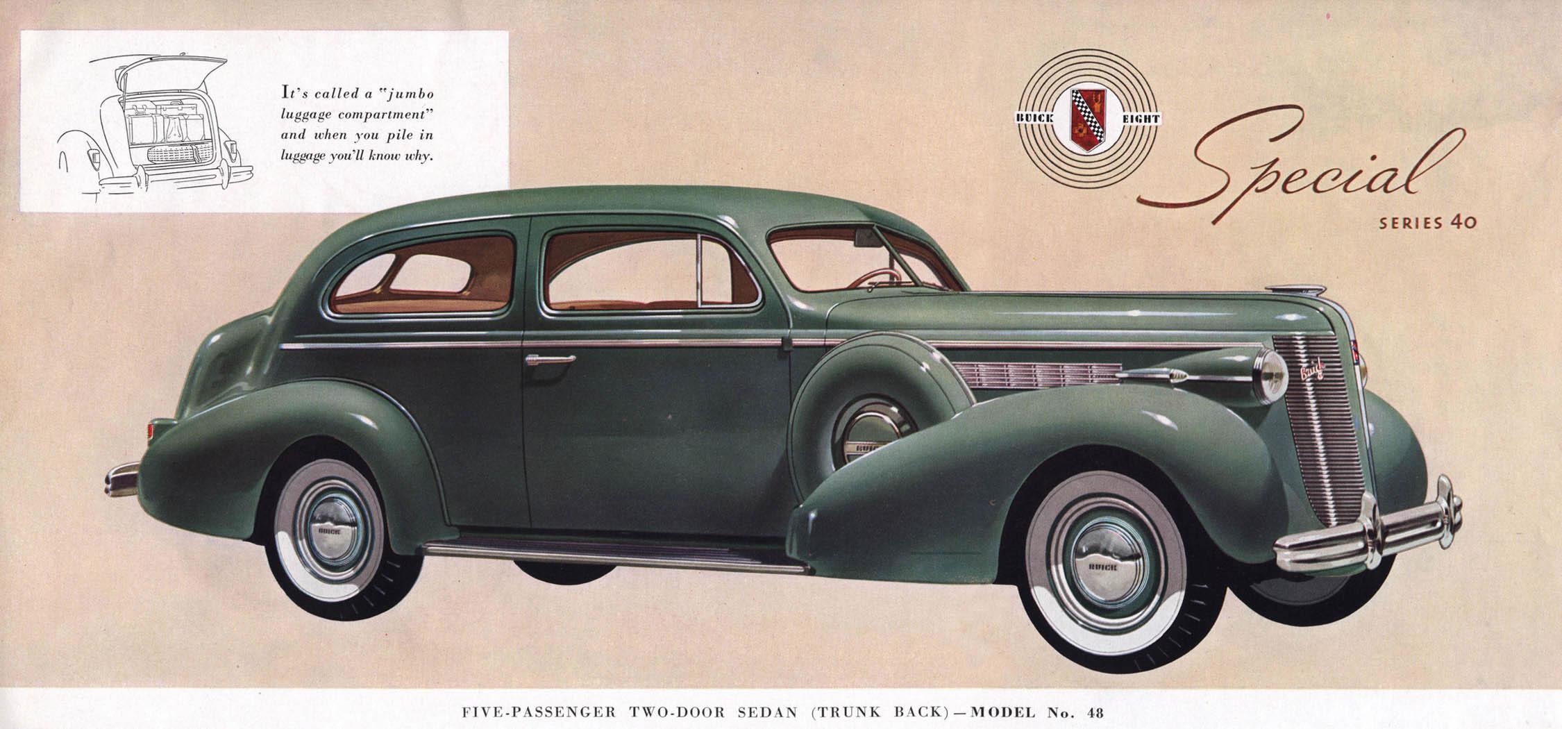 Car brochures 1937 buick brochure page20 jpg for 1937 buick special 2 door