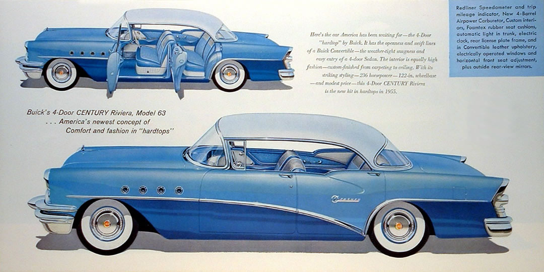 Car Brochures 1955 Buick Brochure Page 14 Jpg