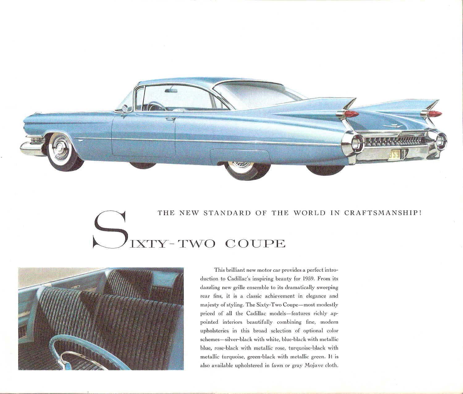 Car Brochures 1959 Cadillac Brochure Page 02 Jpg