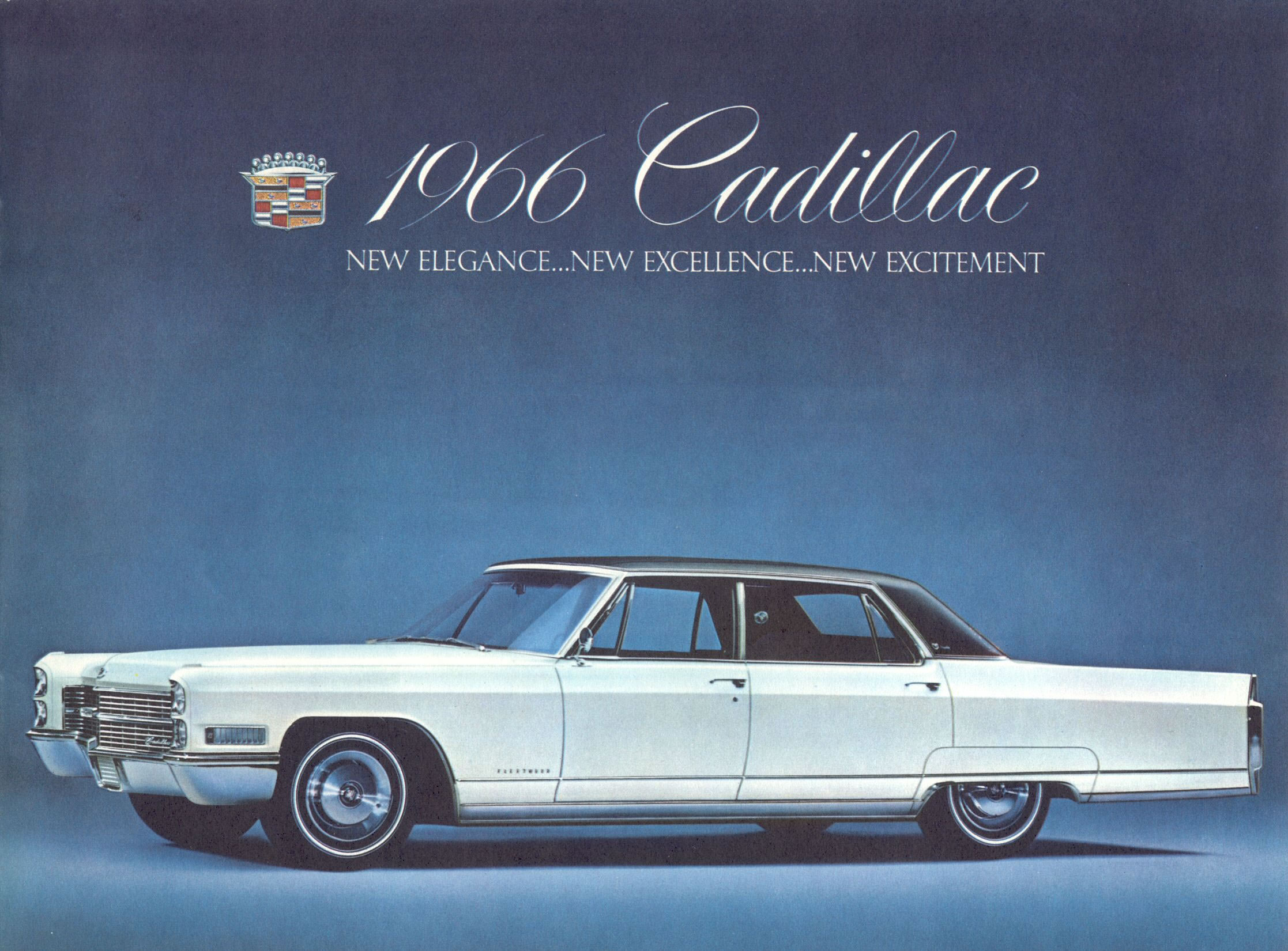 Car Brochures 1966 Cadillac brochure Page01jpg – Old Car Brochure