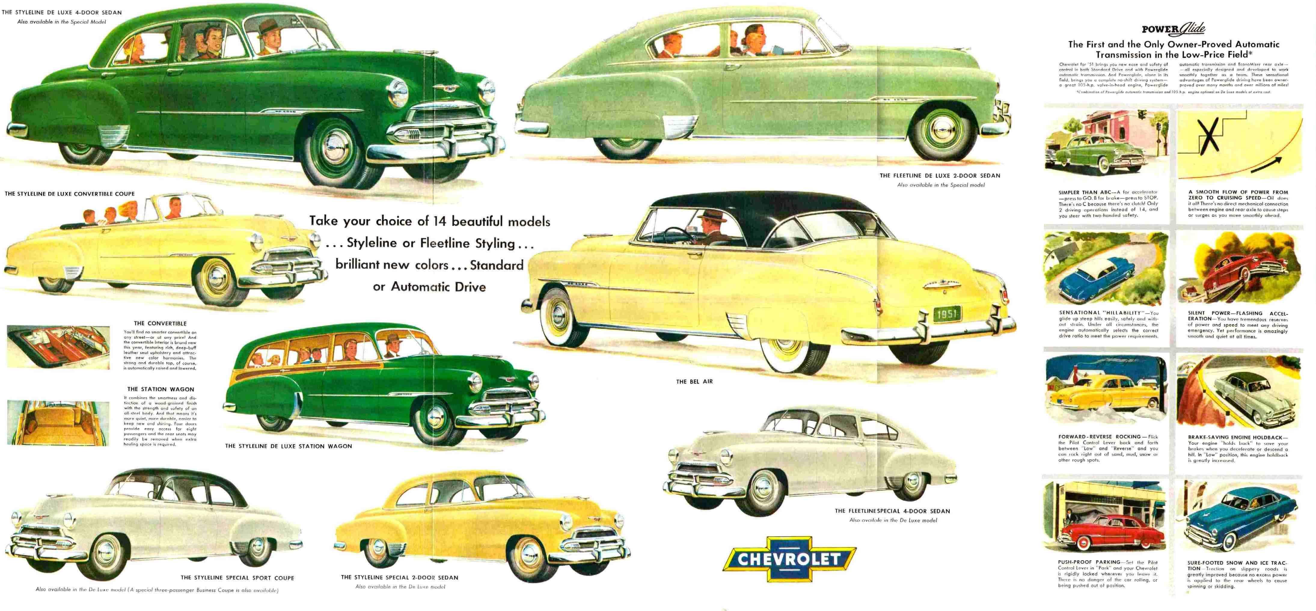 Car Brochures - 1951 Chevrolet brochure / 51chevy2 jpg