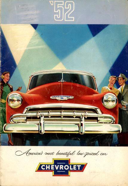 1952 Chevrolet Advertisement