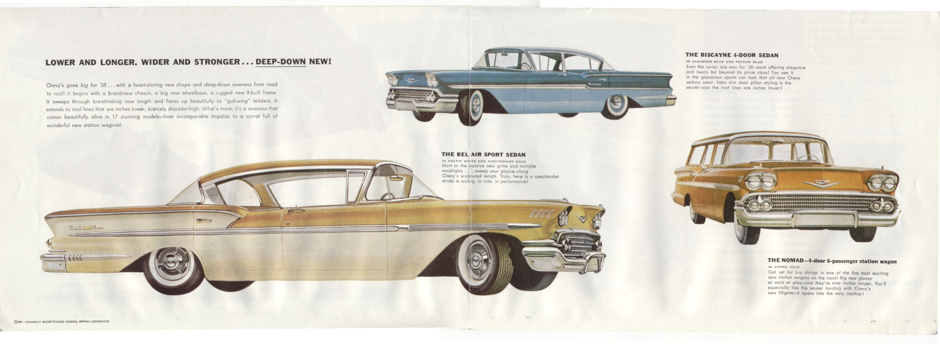 1958 Impala Anniversary Gold Edition Chevy Message Forum 57 Factory Colors Http Tocmpcom Brochures Chev Images Poster Mid