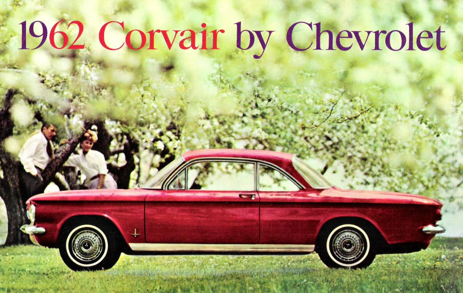 Car Brochures 1962 Corvair Brochure Corvair01 Jpg