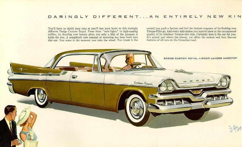 Car Brochures 1957 Dodge Brochure 57 02 Jpg