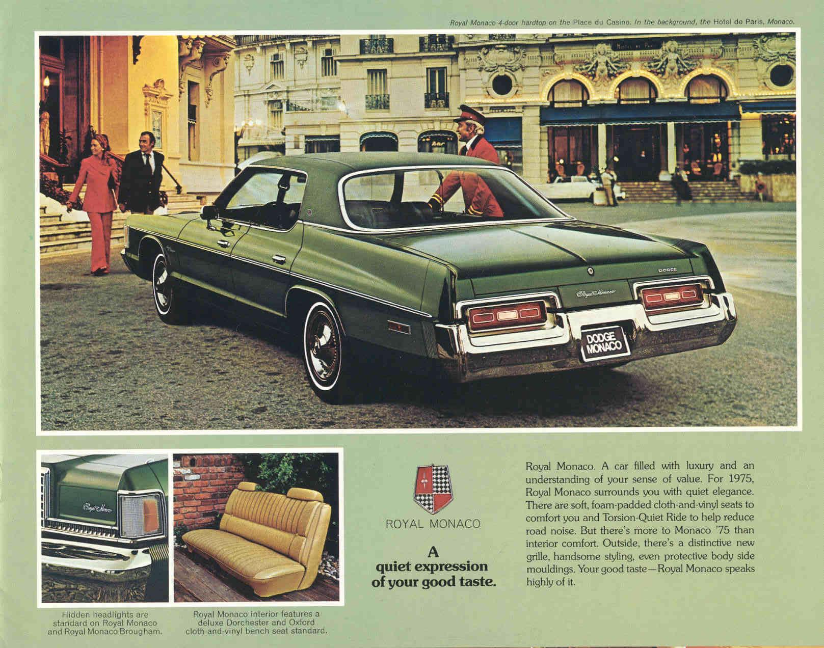 Car Brochures - 1975 Dodge Monaco Brochure / dodge75_03.jpg