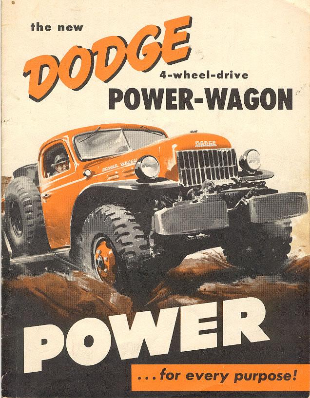 Car Brochures  Dodge Power Wagon Brochure  ScanJpg