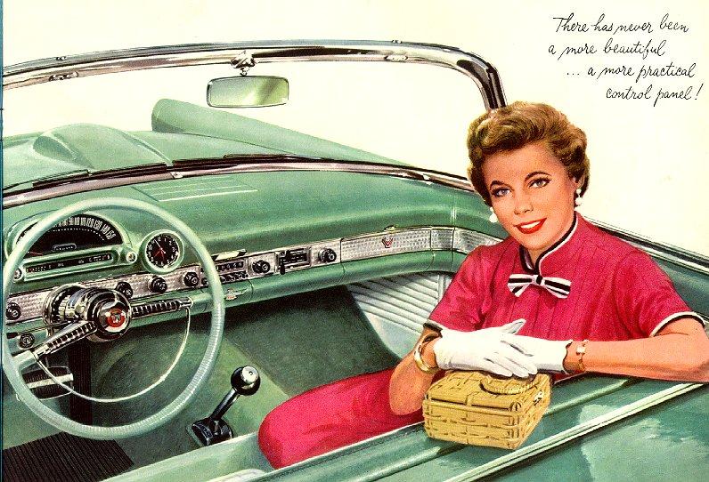 car brochures 1955 thunderbird brochure