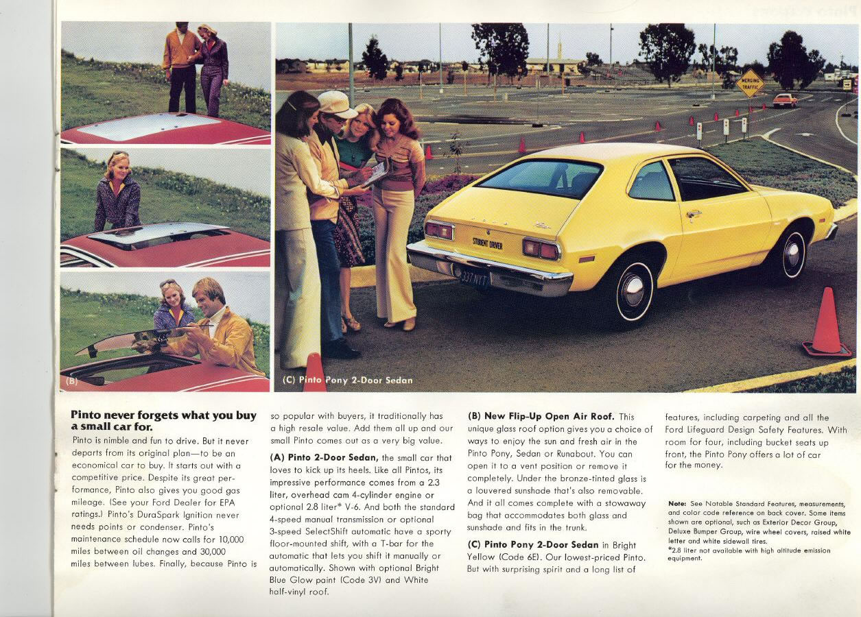 1977 Ford Pinto Brochure
