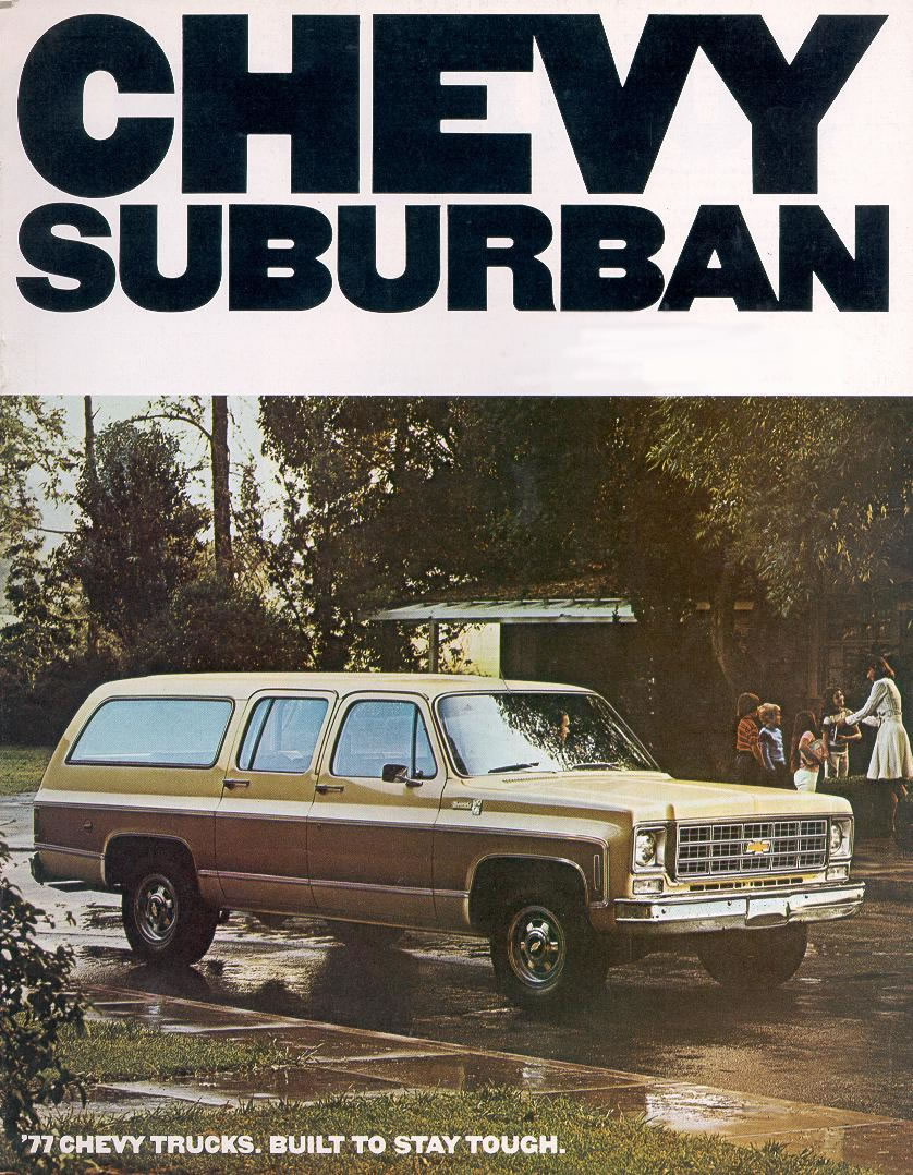 Car Brochures - 1977 Chevrolet and GMC Truck Brochures / 1977 Chevy ...