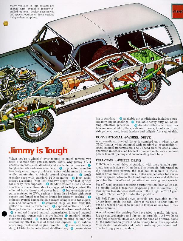 Car Brochures - 1979 Chevrolet and GMC Truck Brochures / 1979 GMC