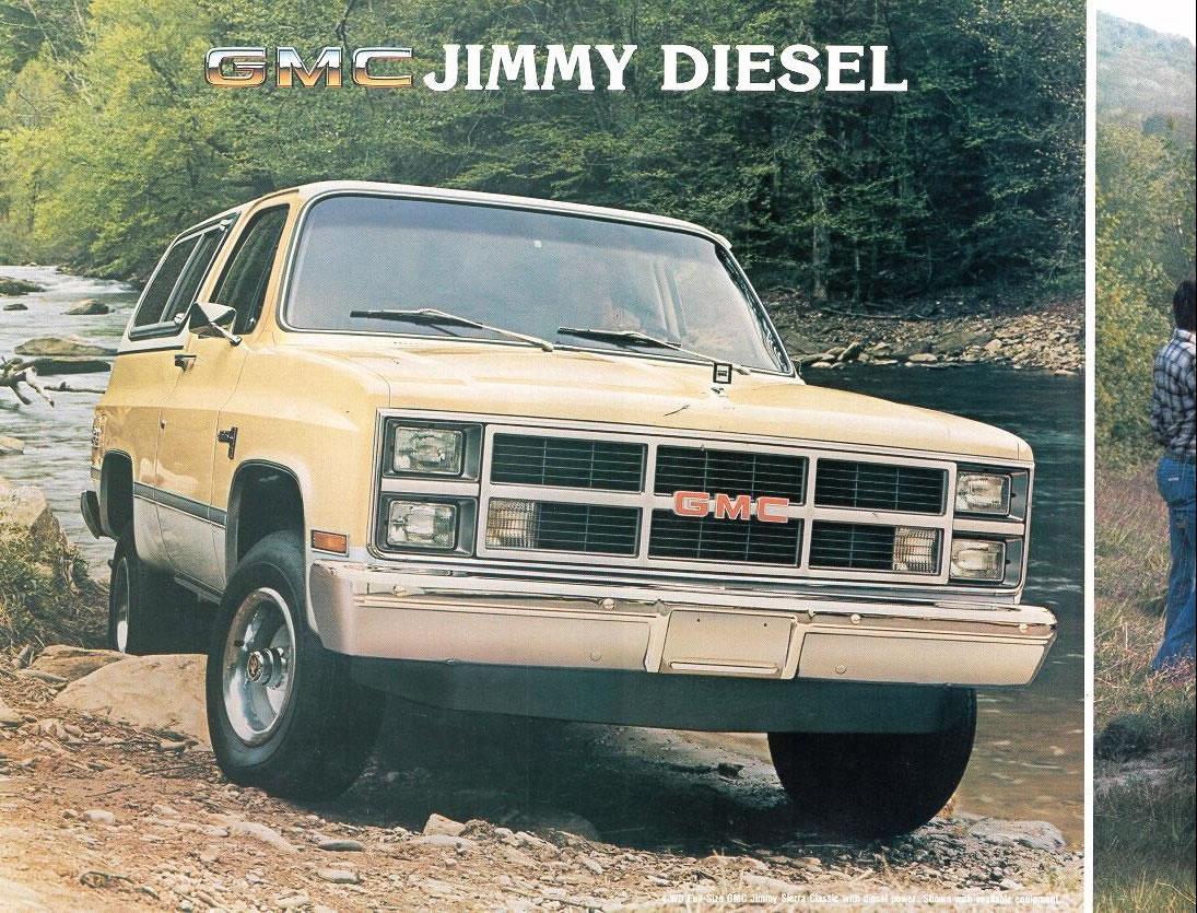 Car Brochures - 1983 Chevrolet and GMC Truck Brochures / 1983 GMC ...