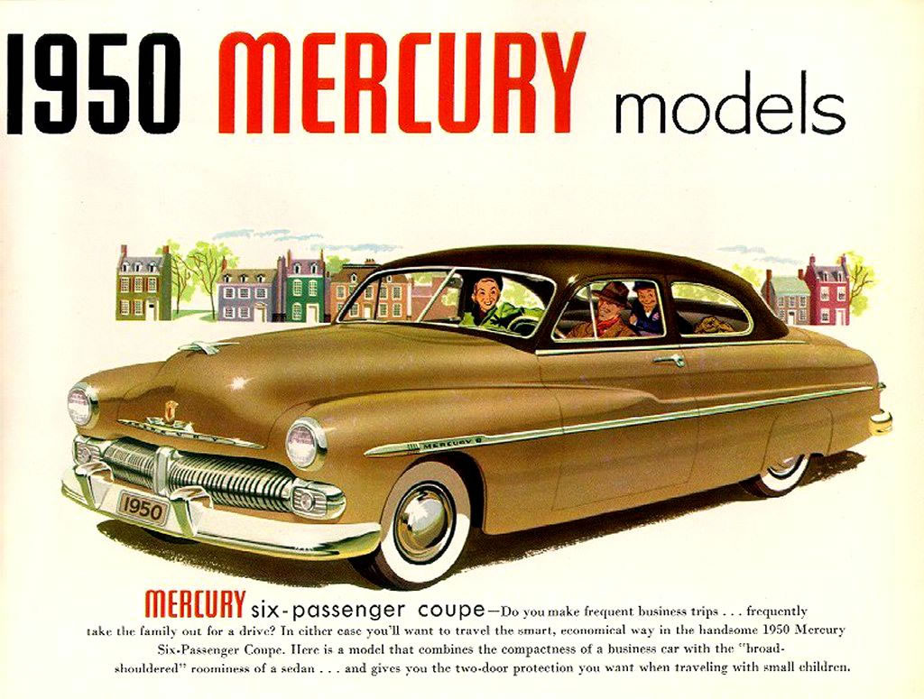 Car Brochures 1950 Mercury Brochure 50 02 Jpg