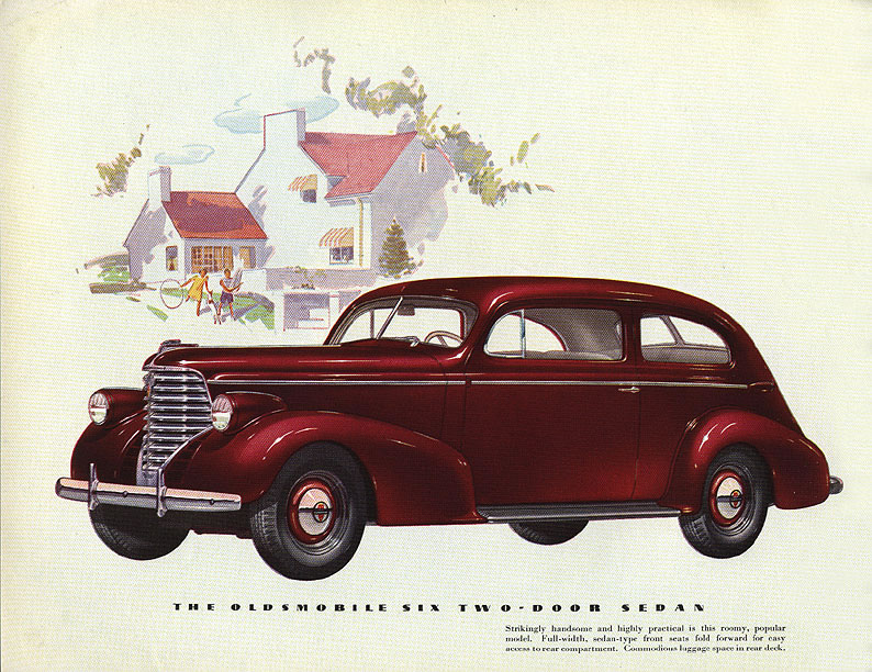 Car brochures 1938 oldsmobile brochure page 04 jpg for 1938 oldsmobile 2 door sedan