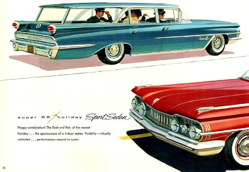 Car Brochures   Oldsmobile Brochure