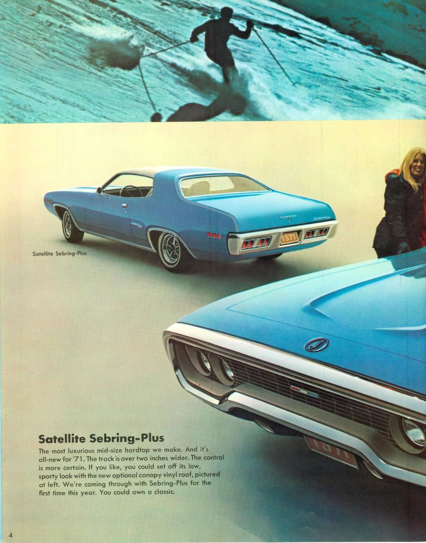 1971 Plymouth Satellite 4 Door http://www.tocmp.com/brochures/Plymouth/1971/Satellite/pages/1971_plymouth_satellite_04_jpg.htm