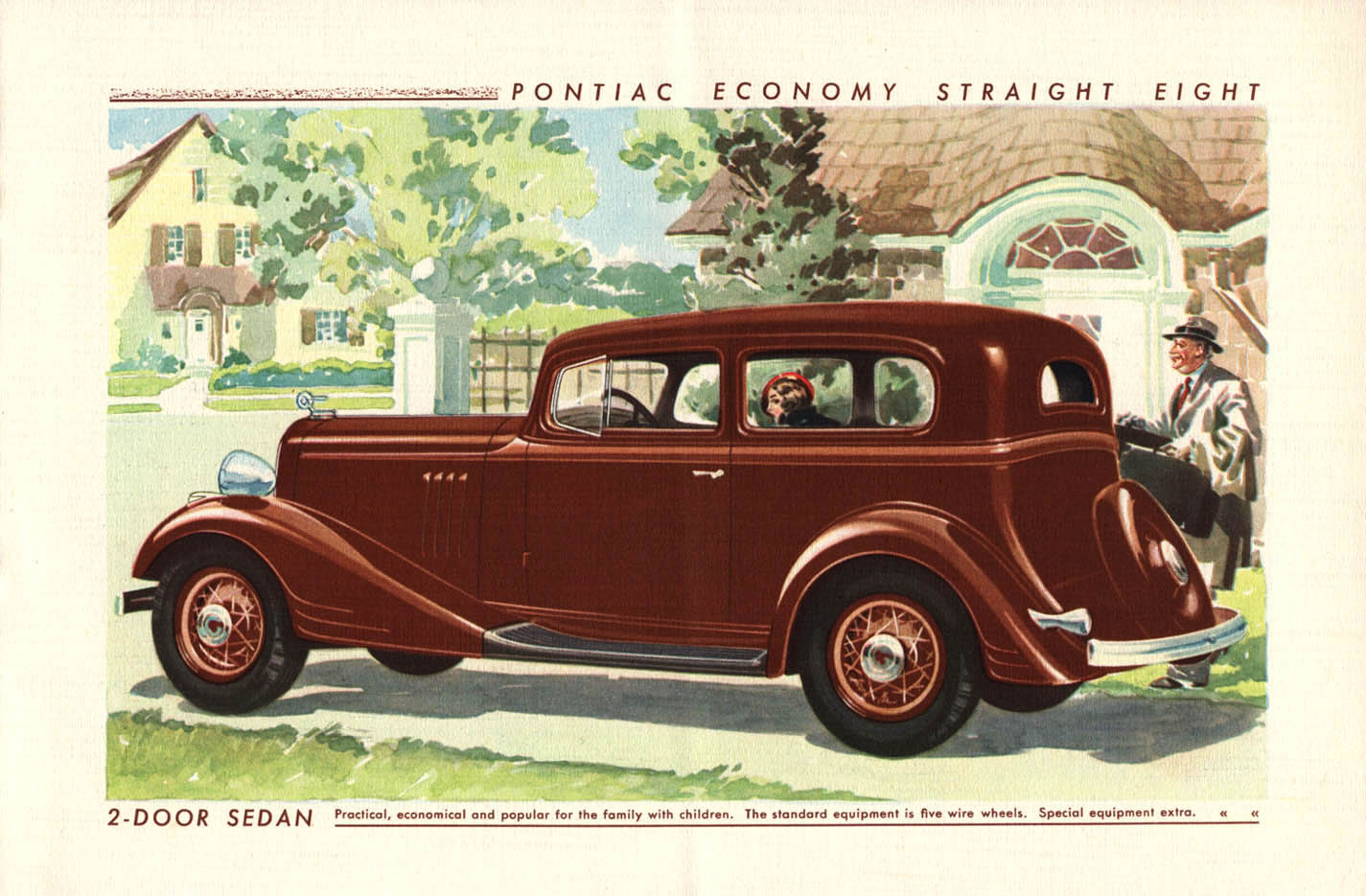 Car brochures 1933 pontiac 8 brochure page 05 jpg for 1933 pontiac 4 door sedan
