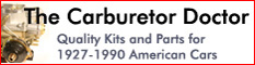 Carburetor Doctor - Kits and Parts for American Cars