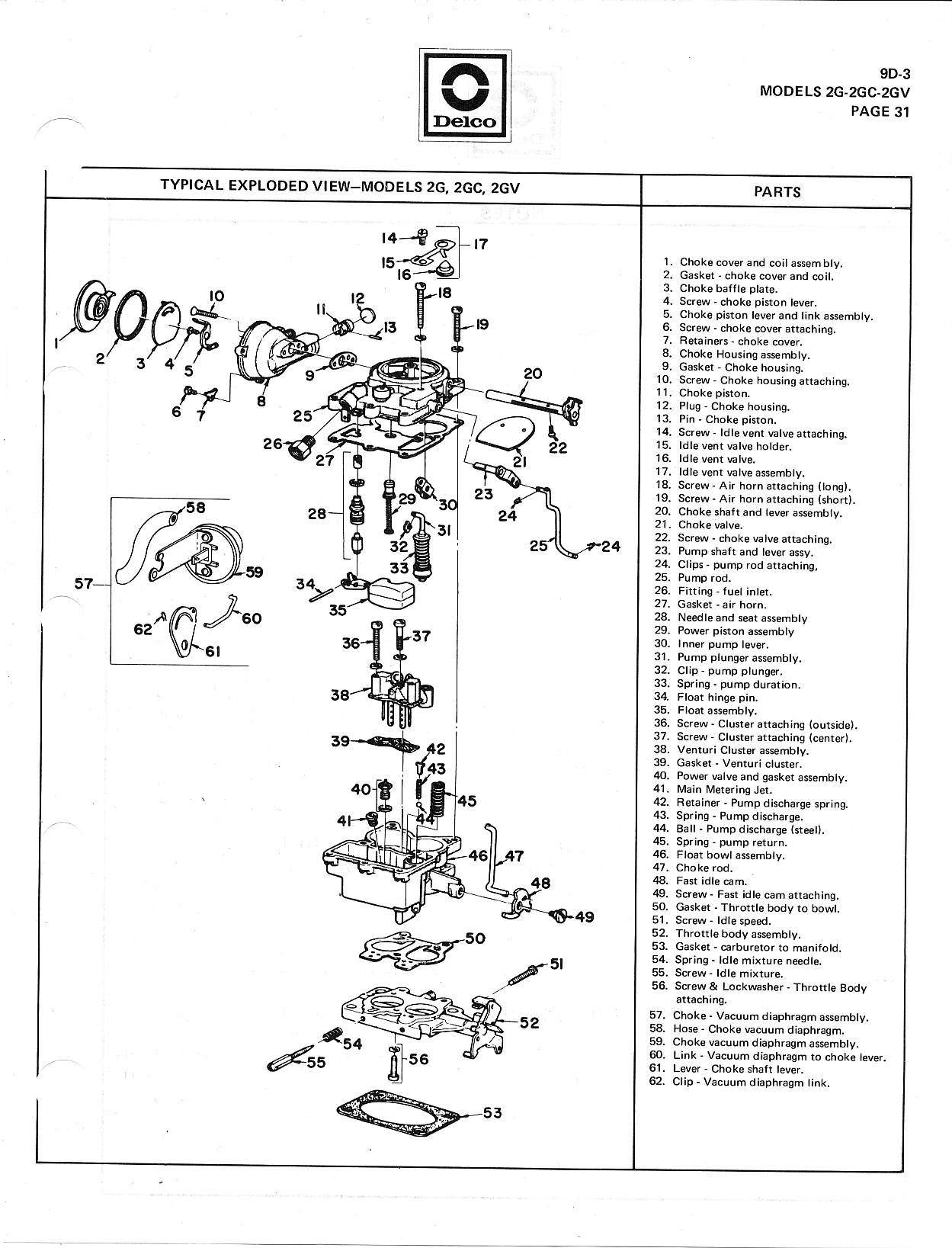rochester 2-jet carburetor manual