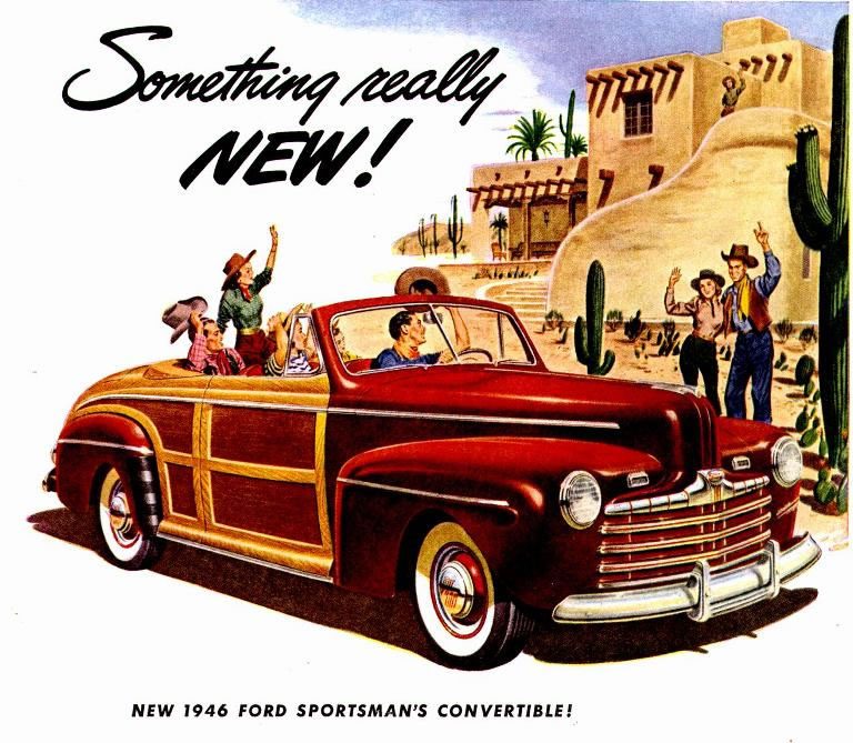 Ford ads and period pictures / 1946 ford ad-01.jpg | The Old Car ...