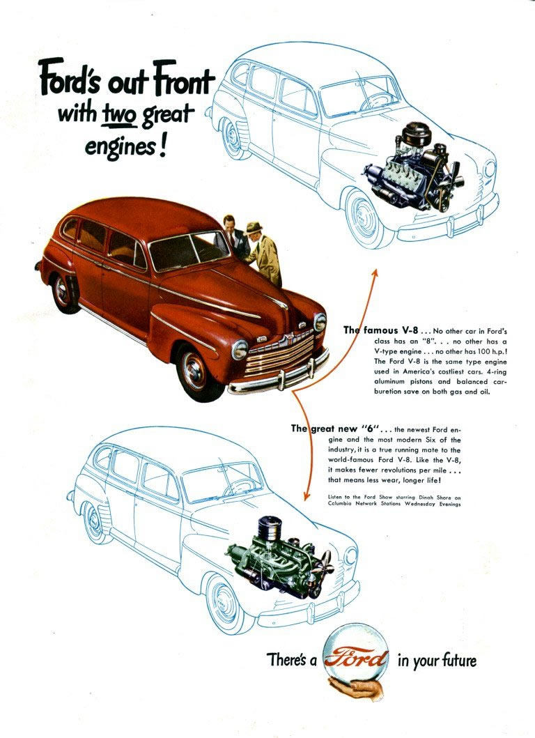 Ford ads and period pictures / 1947 ford ad-03.jpg | The Old Car ...