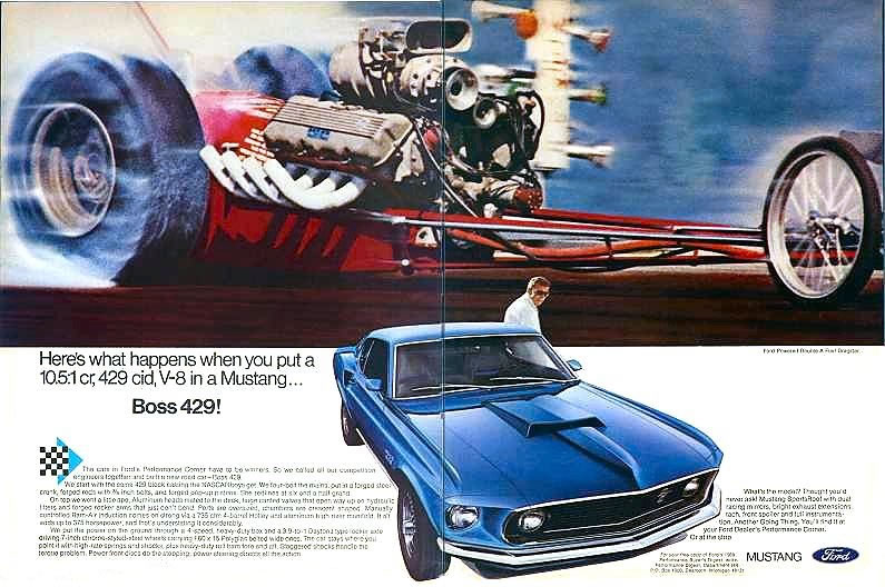 Ford Ads And Period Pictures 69mustang03 Or Jpg The Old Car