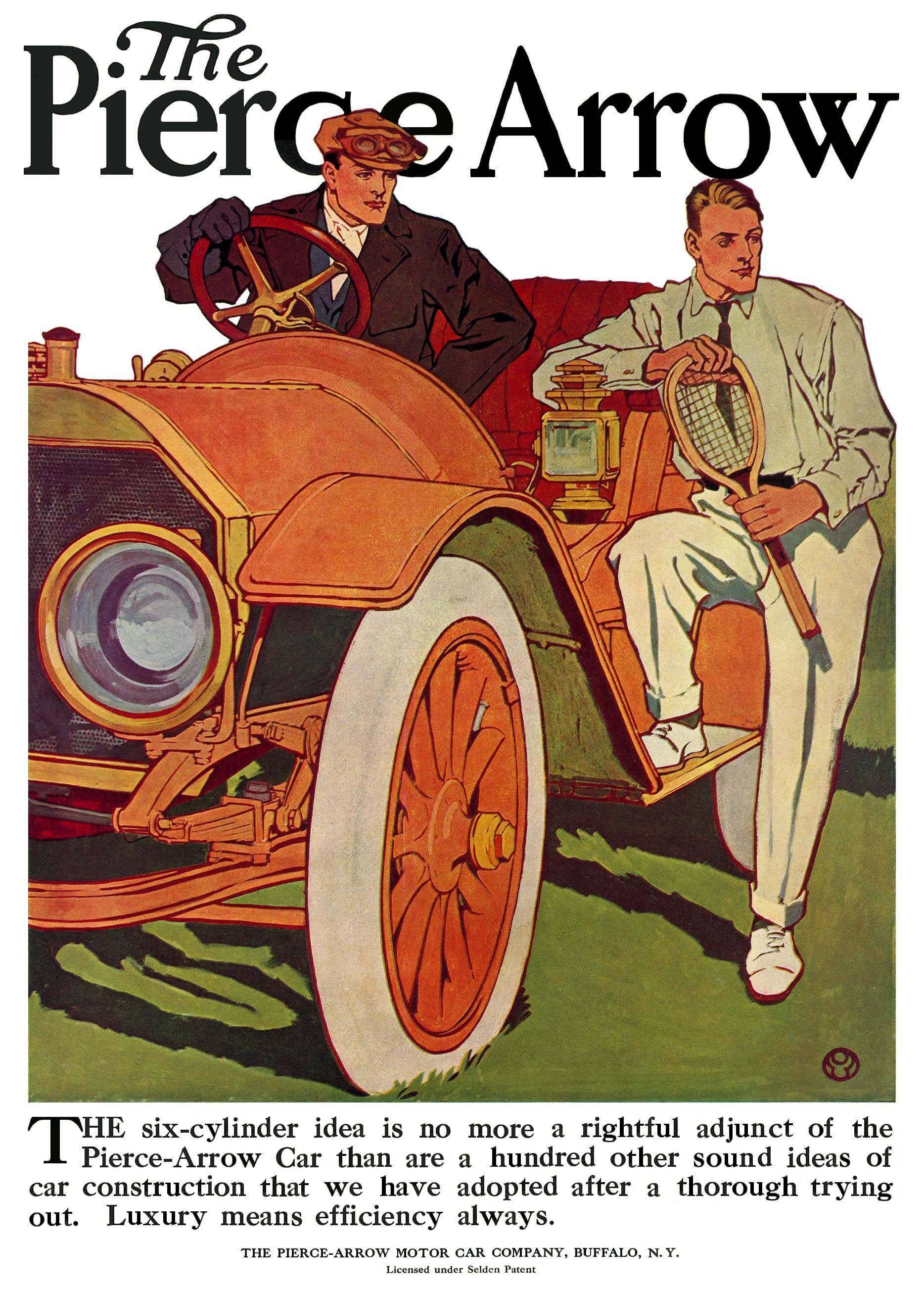 Pierce Arrow Advertisements 1910 Pierce Arrow 4 Jpg