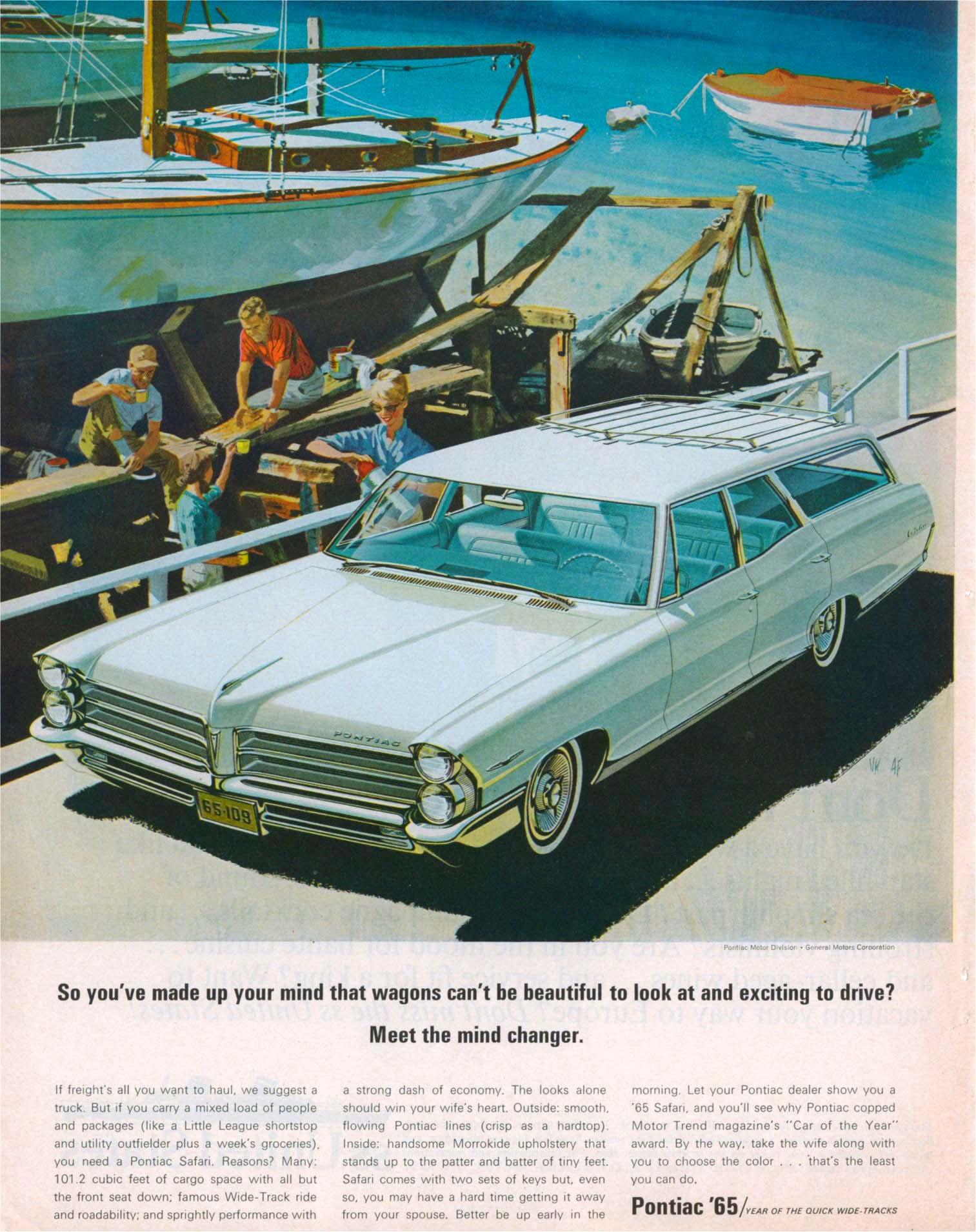 Pontiac Ads 1960-1973